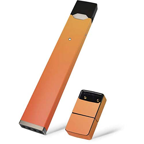 Skinit Orange Ombre Skin for Juul Premium Wraps for Juul Device - Original Solids Design - Ultra Thin 3M Vinyl, Residue Free, Easy Application