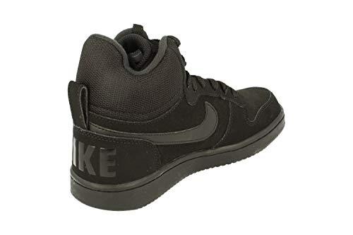 Borough Donna Wmns Basket Scarpe black Mid Court Nike black 002 Nero Da EO6CqE