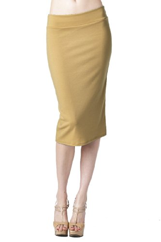 82-Days-WomenS-Casual-To-Office-Wear-Below-Knee-Various-Style-Of-Skirts