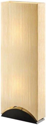 Artiva USA Sakura, Modern Contemporary Design, 42-Inch Premium Shade w Black Lacquer Wood Base Floor Lamp