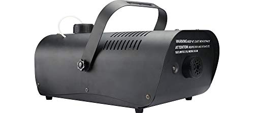 1000W Fog Machine with Alarm and Wired Remote, Halloween Decorations, Party, Special Effects, Black, by Seasonal Visions ()