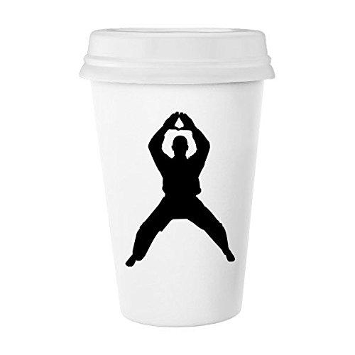 65%OFF【送料無料】 中国中国Shaolin Kung Kung Fu ml MartialアートモンクSoldier従来文化Illustration B06XNMSDYQ Patternクラシックマグホワイト陶器セラミックカップミルクコーヒーカップギフト350 ml B06XNMSDYQ, アステッドホーム:6722dcfe --- arianechie.dominiotemporario.com