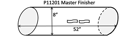 Master Finisher Replacement Dust Tubes - 1 Tube