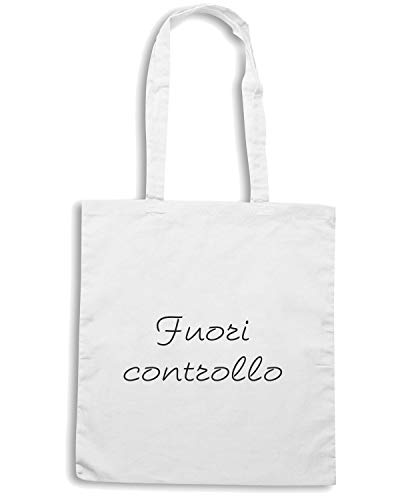Shirt Borsa TDM00087 FUORI Shopper Bianca CONTROLLO Speed dFvxd