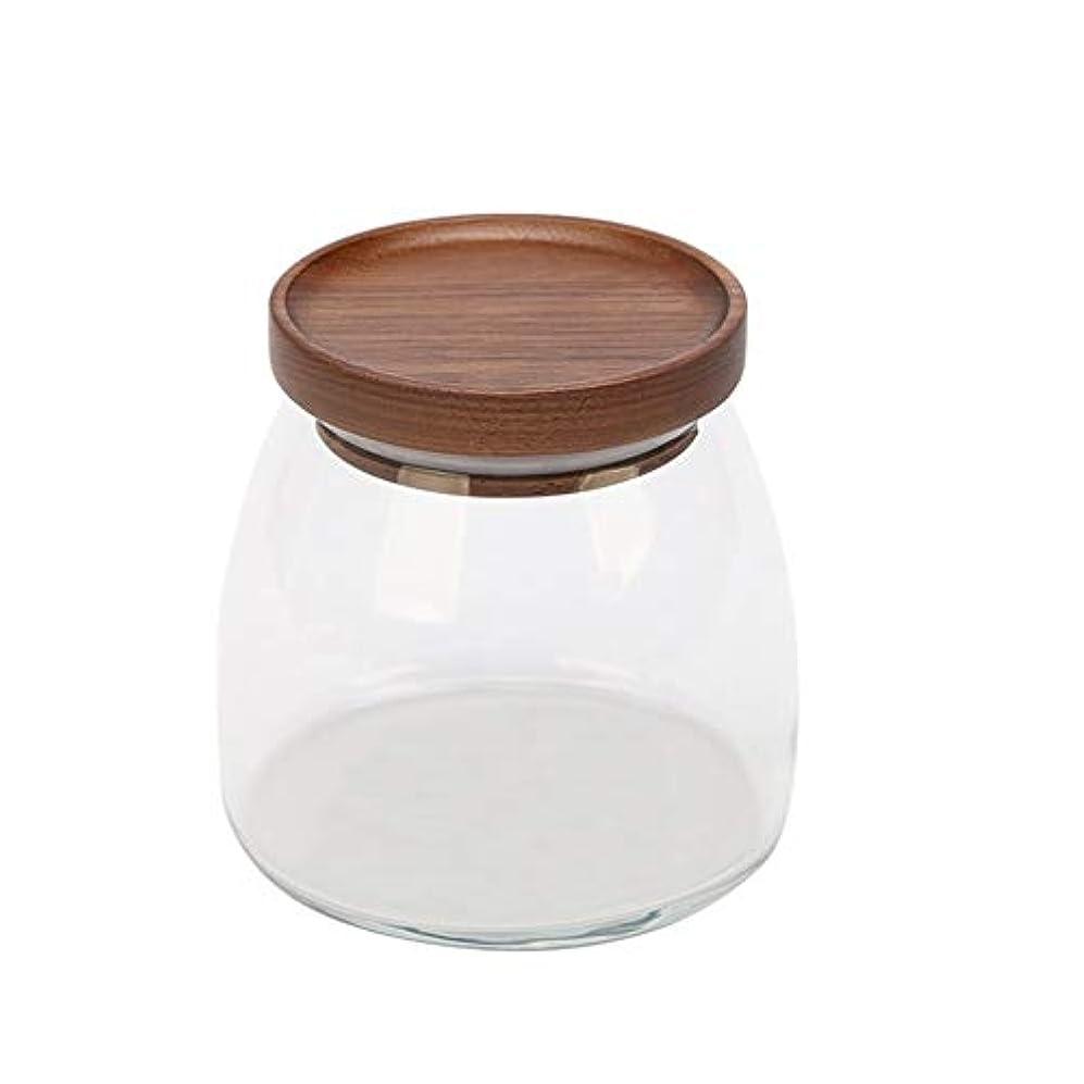 爆風無限純粋に貯蔵タンク、透明ガラス貯蔵タンク、家庭用食品、茶瓶