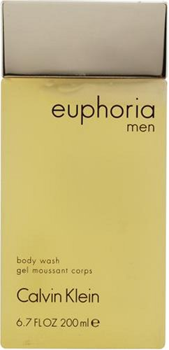 Euphoria Men by Calvin Klein for Men, Body Wash, 6.7 Ounce