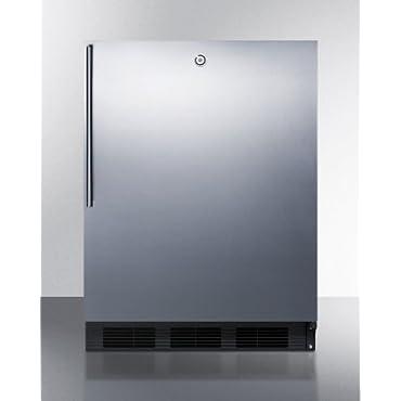 Summit ALB753LBLSSHV; Compact ADA Compliant All Refrigerator