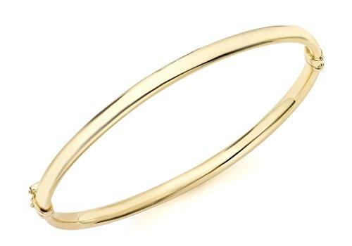 9ct or jaune ovale Bracelet