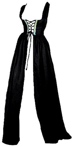 Renaissance Irish Over Dress (2XL/3XL, Black)