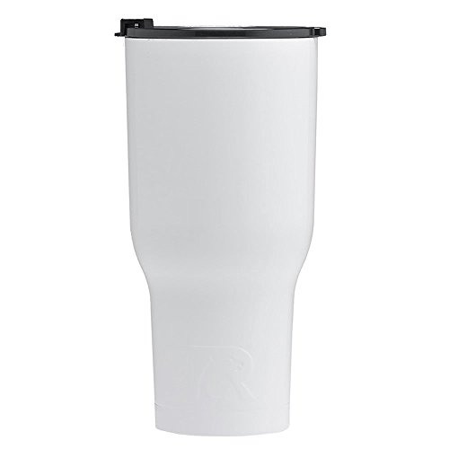 RTIC Double Wall Vacuum Insulated Tumbler, 40 oz, White