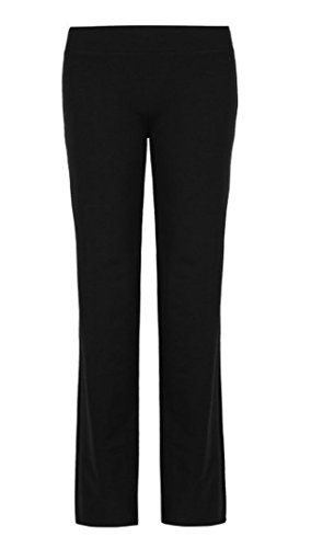 Ex Marks & Spencer Ladies Cotton Rich Straight Leg Joggers (M, ()