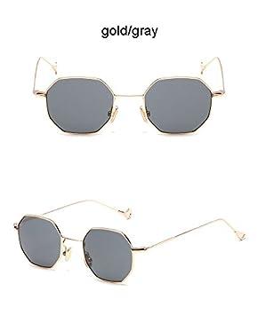 Aprigy Steampunk - Gafas de Sol con Forma de polígono para ...