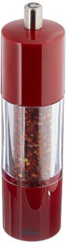 Chili Pepper Mill - Trudeau 7-1/2-Inch Red Chili Pepper Grinder