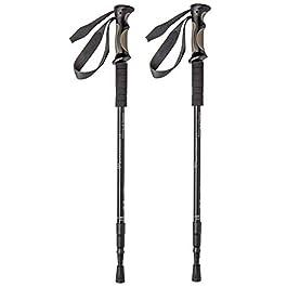 BAFX Products – 2 Pack – Adjustable Anti Shock Hiking/Walking/Trekking Poles – 1 Pair