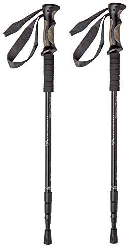 (BAFX Products - 2 Pack - Adjustable Anti Shock Hiking/Walking/Trekking Poles - 1)