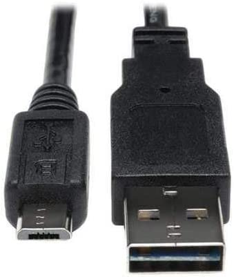 Black//30cm//12 Short 1ft MicroUSB Cable for Acer ICONIA TAB A100 High Speed Charging.