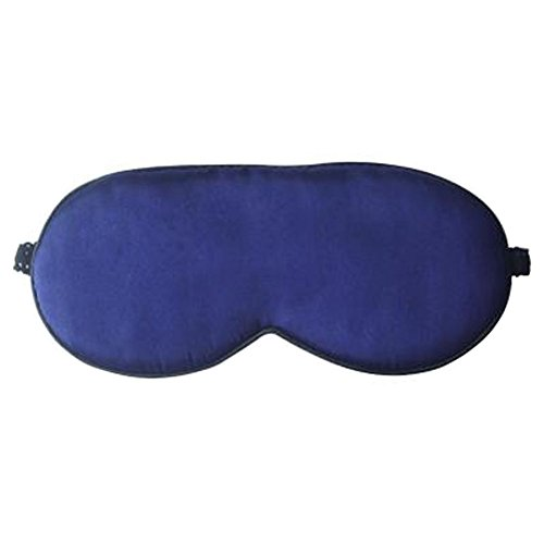 [dolly2u Ultra Lightweight Eye Mask Sleep Mask Eye-shade Eye Cover Silk, Deep Blue] (Smiley Movie Mask)