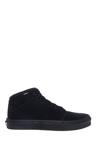 ae5c5576d9be Vans Men s 106 Mid Black Black Ankle-High Canvas Skateboarding Shoe ...