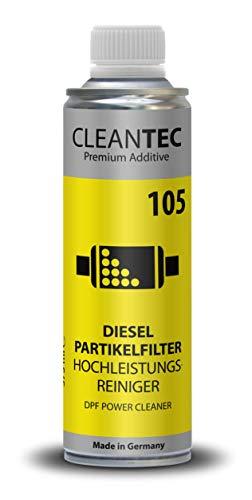 CleanTEC DPF Power Clean - Limpiador de Alto Rendimiento para Filtro de particulas diesel (375 ml)