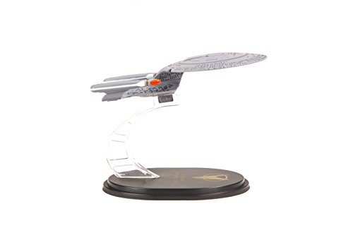Quantum Mechanix Star Trek The Next Generation: USS Enterprise NCC-1701D QMx Mini Master Ship Replica Toy, ()