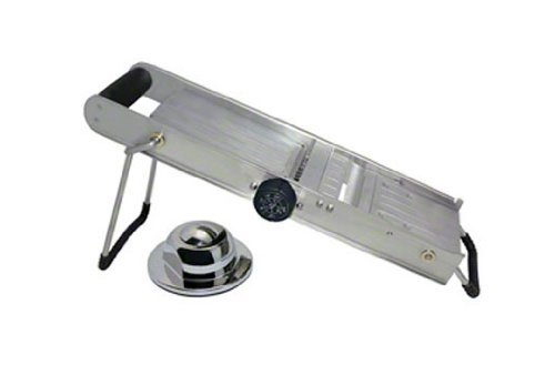 "Update International (MS-SS) 17"" Stainless Steel Mandoline Slicer"