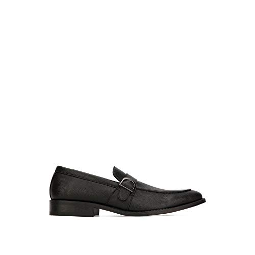 Unlisted by Kenneth Cole Men's Half TIME Show Loafer, Black, 12 M US
