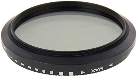 ND2 to ND400 Filter Premium Quality 46mm ND Fader Neutral Density Adjustable Variable Filter