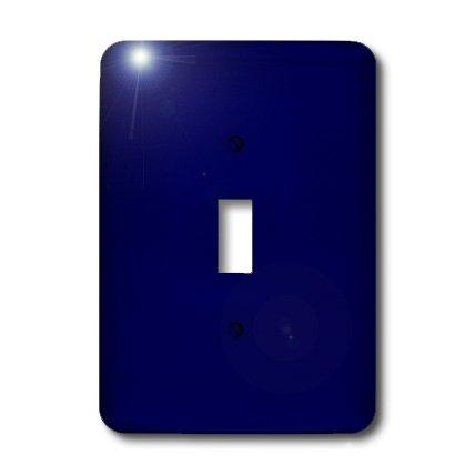3dRose LLC lsp_30649_1 Navy Blue, Single Toggle Switch