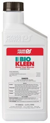 Power Service 09016-09 Bio Kleen Diesel Fuel Biocide - 16 oz. by Power Service