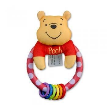 Disney Pooh Rainbow Rattle, Baby & Kids Zone