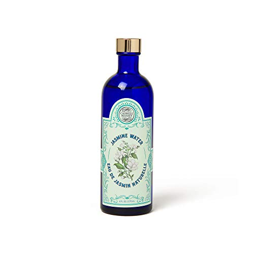 Jasmine Water - Caswell-Massey Pure Jasmine Water Multi Use Lavender Water - Facial Toner, Freshens Linens, Hair Rinse - All Natural, Alcohol Free, Skin Tonic - Made in USA, 6 Ounces