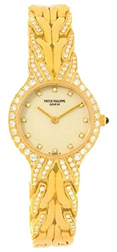 Patek Philippe La Flamme Quartz Female Watch 4816/3 (Certified -