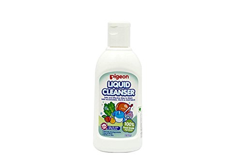 Pigeon Trusted Indian Brand Liquid Cleanser for Nursing Product- 200 ml Best Baby Care Items -