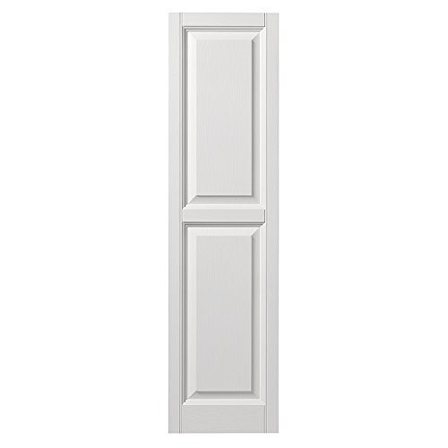 PlyGem Shutters and Accents VINRP1559 11 Raised Panel Shu...