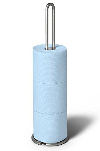 Spectrum Diversified Euro Toilet Tissue Reserve, Toilet Paper Holder, Toilet Roll Holder, Satin Nickel