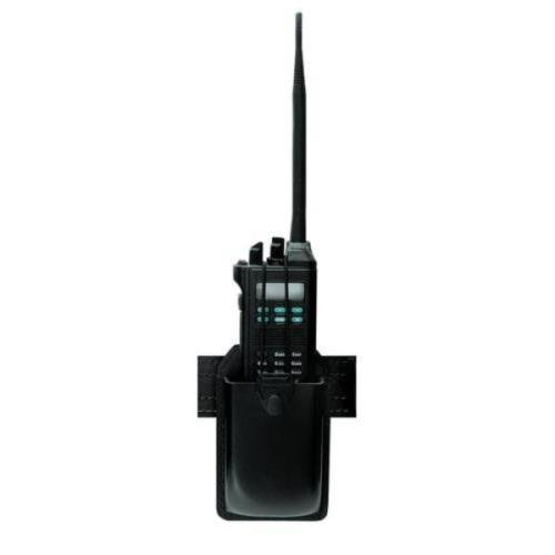(Safariland 762 Radio Carrier STX B/W Blk w/Swivel)