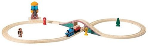 Thomas And Friends Wooden Railway - Water Tower Figure 8 Set (Thomas Train Tower Water)