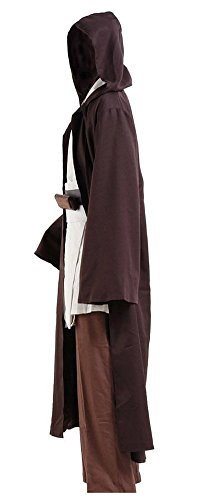 CosDaddy Mens Cosplay Costume Tunic Robe Full Set (L-Men) - http://coolthings.us