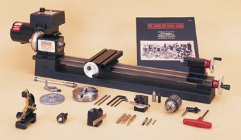 "3.5"" x 17"" lathe, chuck and B accessory package, inch"