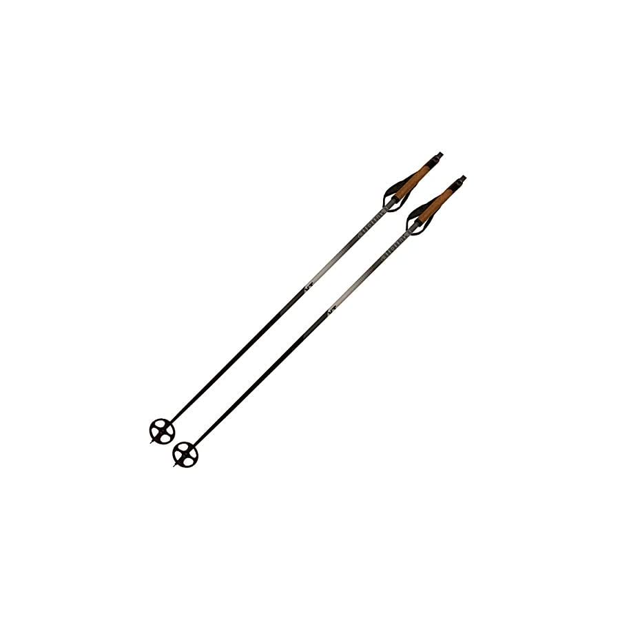 Alpina Sports XT Cross Country Ski Poles, Silver/White, 120cm