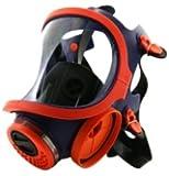 masque de protection respiratoire professionnel et intégral avec 2filtres Protection Respiratoire type A1B1E1K1P3