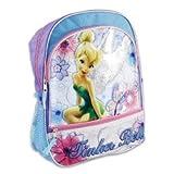 """Tinkerbell Girls Backpack Disney Back to School 16"""" BAG Full Sized"""