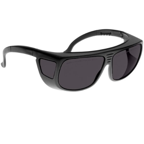 Noir Spectra Shields Large Adjustable -Fitover 13 Percent Dark - Sunglasses Noir