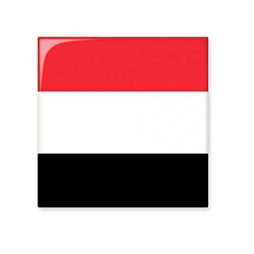 new Yemen National Flag Asia Country Symbol Mark Pattern Ceramic ...