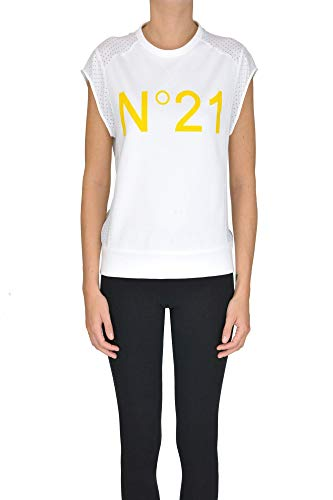 Algodon Blanco Mcgltpt000005007e T Mujer N°21 shirt 0qzwtE