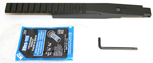 BadAce Low Profile NDT Picatinny Rail for Mosin Nagant M9130 Round Receiver