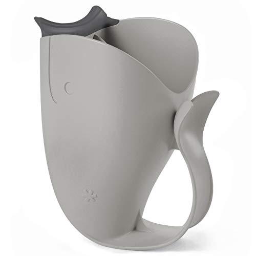 Skip Hop Moby Bath Tear-Free Waterfall Rinser Bath Cup, Grey ()