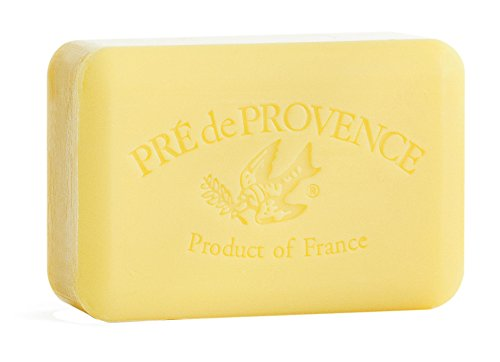 Pre' De Provence Artisanal French Soap Bar Enriched With Shea Butter, Freesia, 250 Gram from Pre de Provence