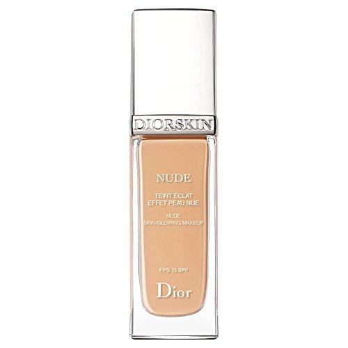 Dior Diorskin Nude Natural Glow Radiant Foundation SPF15 020 Light Beige Dior Natural Glow Face