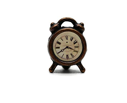 Vintage Antique Alarm Clock Dollhouse Miniatures Decoration by Cool Price from Cool Price